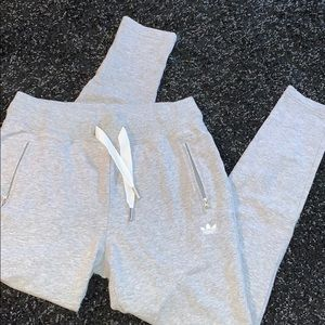 Grey Adidas Women's Joggers size Small NWOT